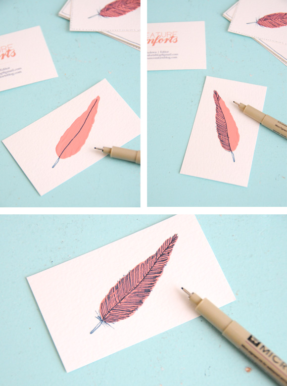 Beautiful Business Cards Part Two Clever Bird Banter