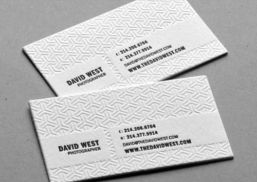 Beautiful business cards part one clever bird banter david west business card colourmoves