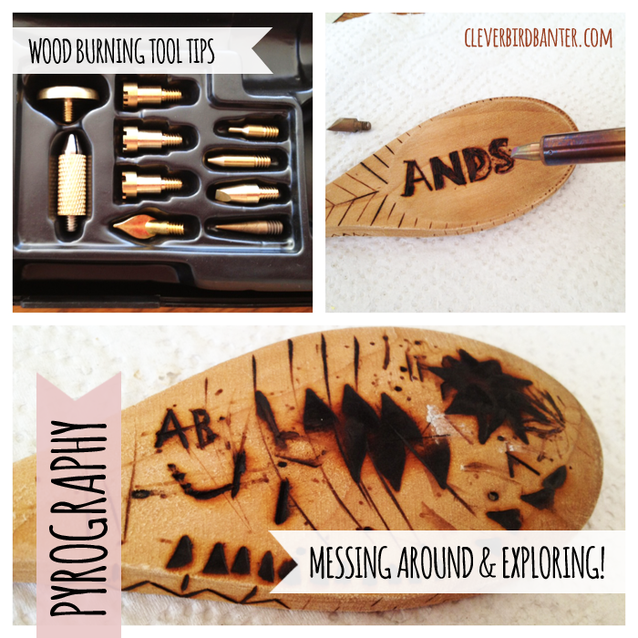 Pyrography / Wood Burning Tools – Clever Bird Banter