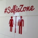 Selfie Zone - so clever!