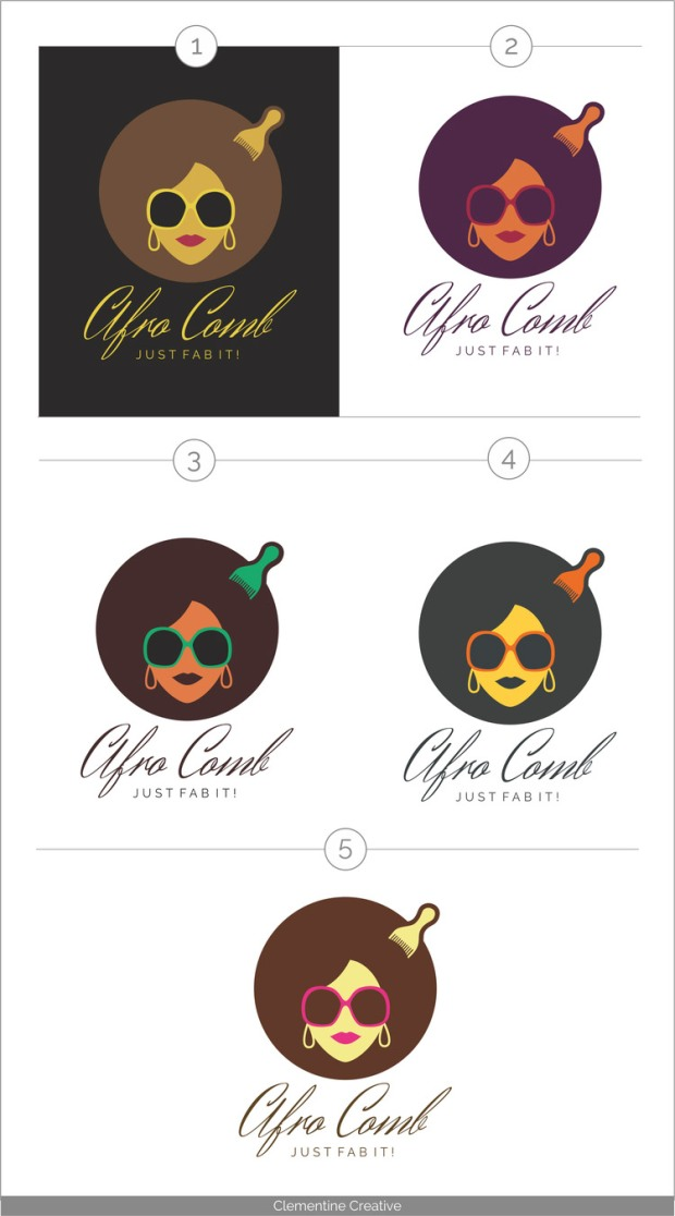 afro-comb-logo-options-colour
