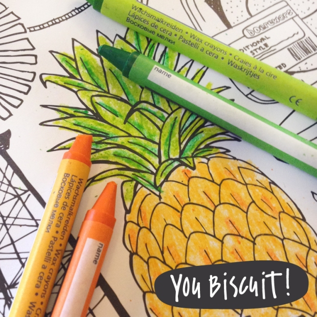 You Biscuit Colouring Poster 2