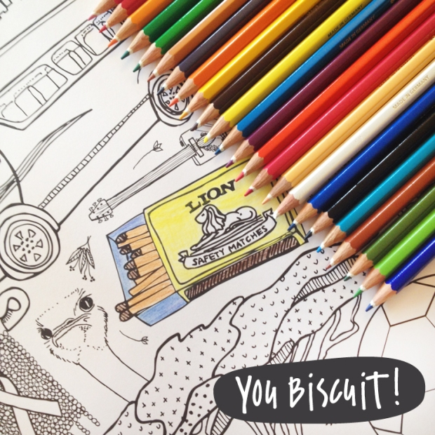 You Biscuit Colouring Poster 3